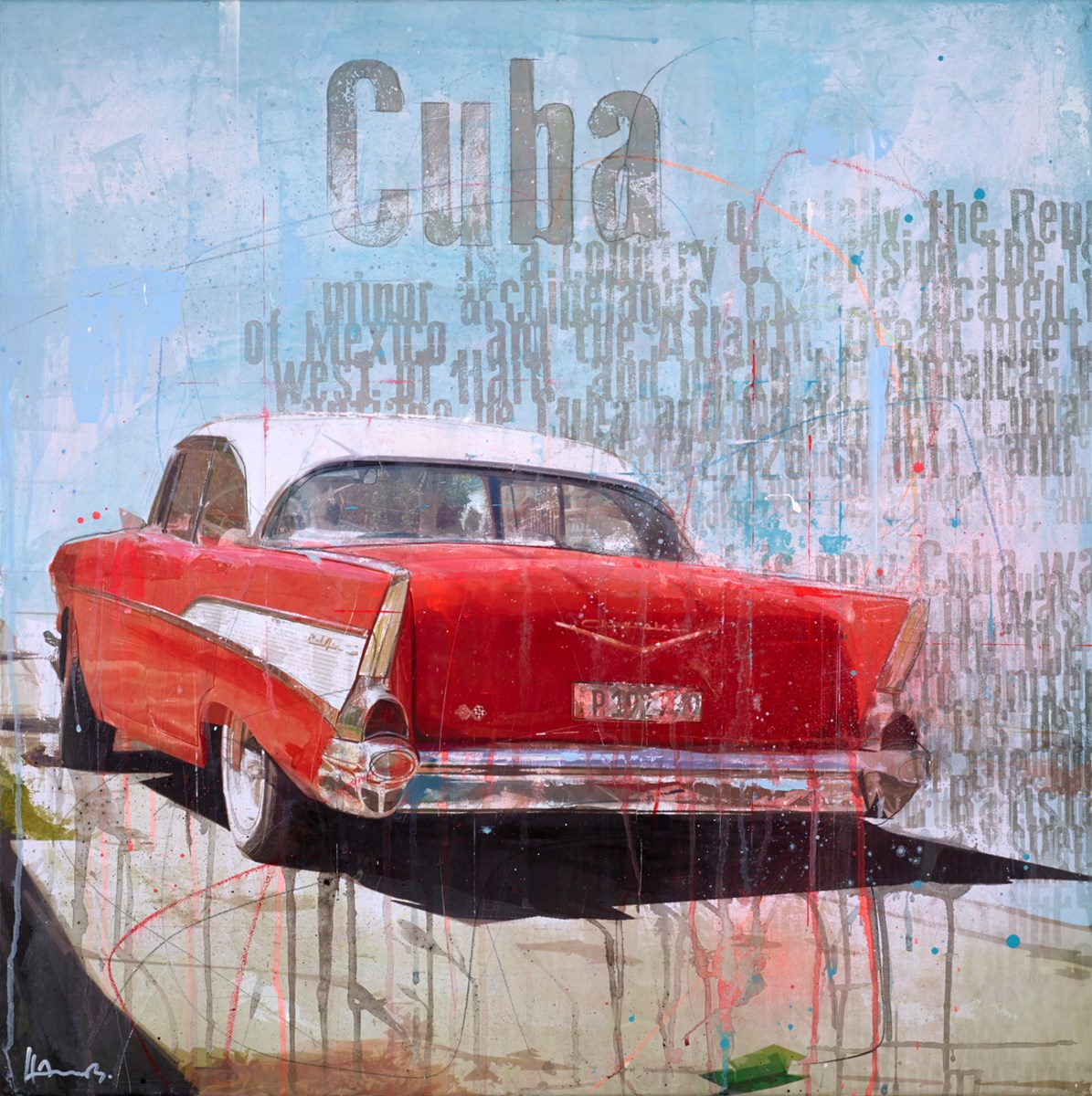 Cuba by markus haub -  sized 32x32 inches. Available from Whitewall Galleries